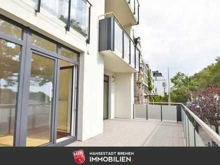 Reserviert: Ostertor / Großzügige Eigentumswohnung mit Weserblick in Bestlage