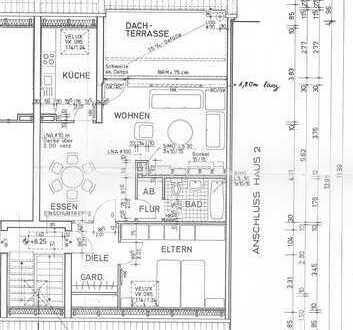 BO-Gerthe, Schlafzimmer, Wohnzimmer, Küche, Essecke, Diele, Bad +Keller +Garage