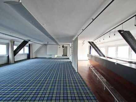 PROVISIONSFREI: Loftartiges Dachgeschoss für kommunikatives Arbeiten in Citylage