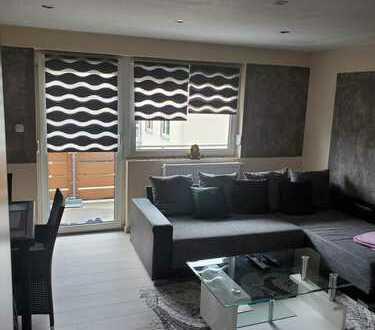 Kernsanierte 3 Zimmerwohnung mit Balkon und Einbauküche in Eisenberg