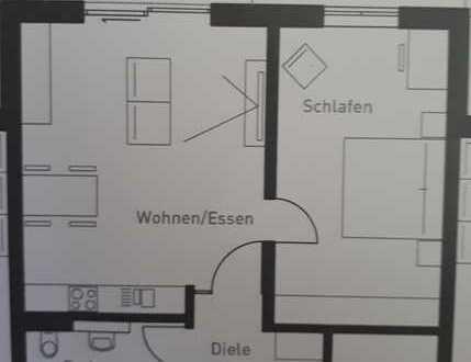 Erstbezug - attraktive 2-Zimmer-Wohnung in Abensberg
