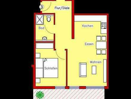 Erstbezug: Schönes Appartement mit Parkett, Einbauküche und Terrasse (L3)