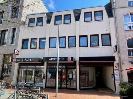 Büro-/Praxisetage im Apotheker- und Ärztehaus in der Itzehoer Innenstadt zu vermieten