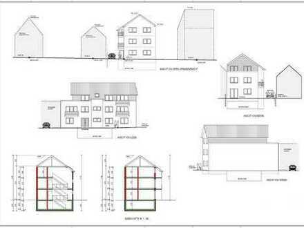Baugrundstück mit Baugenehmigung PROVISIONSFREI zu verkaufen!!!