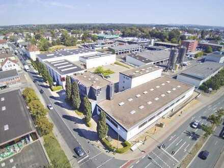 Attraktives Gewerbeareal - Büro- Lager- Hallen in hoch freqentierter Lage