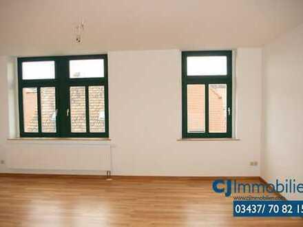 3-Raum-Maisonettewohnung mit Balkon in Grimma.