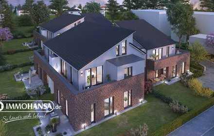++ FLIEDER-QUARTIER ++ Elegante 3 Zimmer Dachgeschoss Neubau-Wohnung Nr.4 mit Balkon & Tiefgarage ++