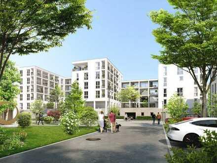 Apartment mit eigenem Stadtgarten