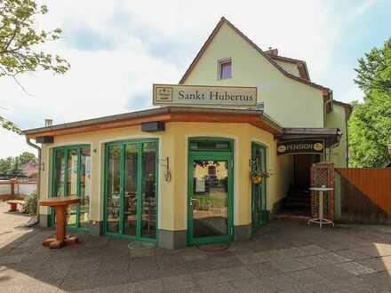 beliebtes Gasthaus in Wünsdorf   Top Lage   Wintergarten   90 Plätze   12 Betten in Pensionsbetrieb