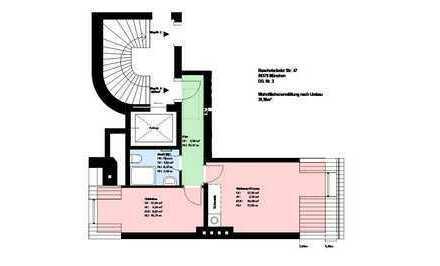 Erstbezug nach Sanierung * Sendling * 2 Zimmer *Einbauküche * Duschbad