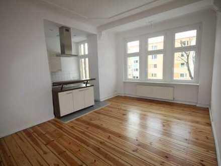 Lichtdurchflutete 3-Zimmer-Wohnung mit Balkon und Erker