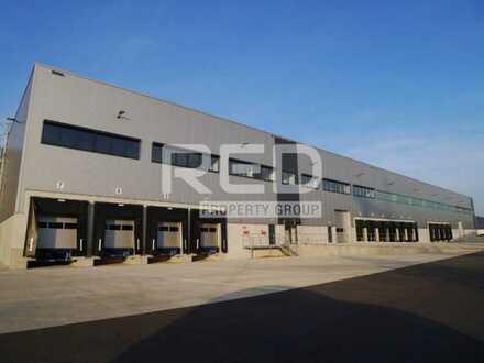 Logistikobjekt - Höhe 10,50 m - Rampen und ebenerdige Tore