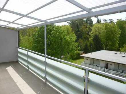 Idyllisch und ruhig gelegene Wohnung mit Balkon