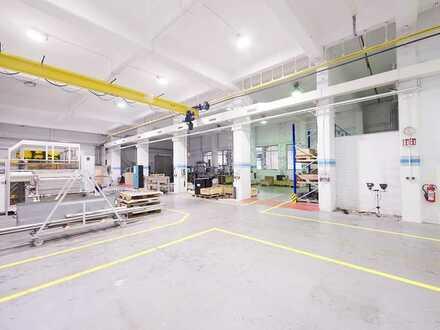 Produktionshallen in Gladbeck - sehr gepflegt - teilbar - hervorragende Verkehrsanbindung