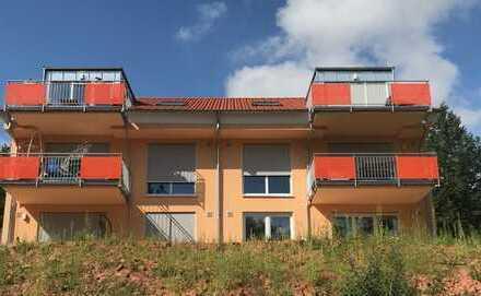 Lichtdurchflutete Neubauwohnung mit Küche in Südlage