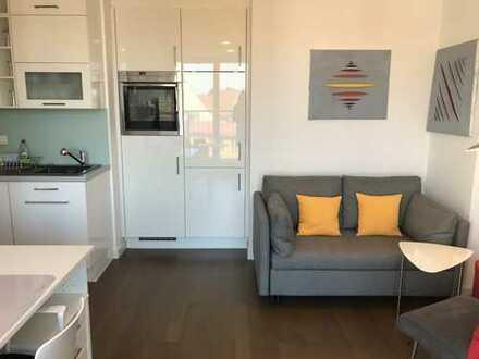 Exklusive, neuwertige 1-Zimmer-Wohnung mit Balkon und EBK in Schwabing, München