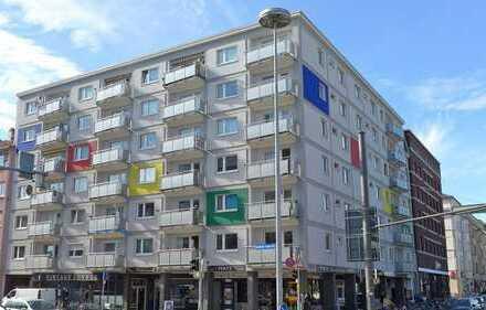 FREI! 1-Zimmerwohnung in zentraler Lage der Weststadt nahe dem Mühlburger Tor