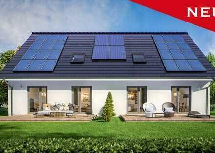 Dauerhaft wohnen o. vermieten! 246 m² Wfl. (KfW70) ScanHaus - Geplant in Zweedorf -inkl. Grundstück.