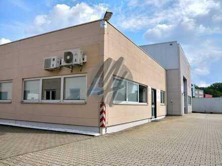 SOFORT VERFÜGBAR ✓ Lager-/Produktionsflächen (510 m²) & Büro-/Sozialflächen (140 m²) zu vermieten