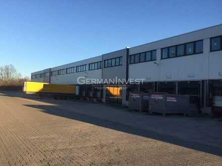 5.725 m² Halle | Rampe + ebenerdig | 5 t/m² Bodenlast