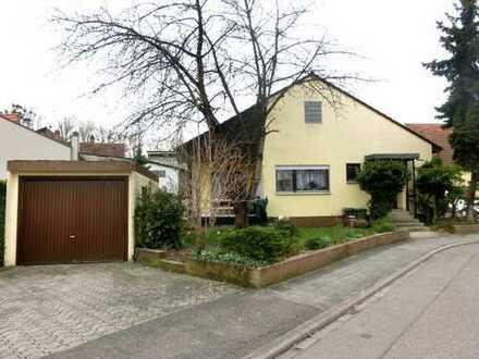 Vermietetes Einfamilienhaus in direkter Nähe des Altrheins