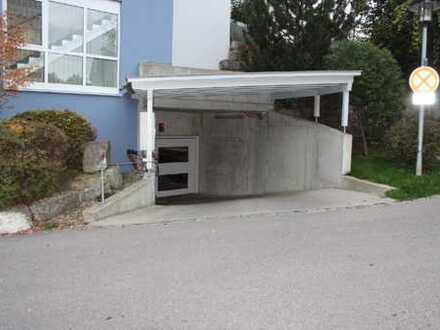 Tiefgaragenstellplatz zentrumshah Kempten in warmer trockener und sauberen Garage sehr guter Zustand