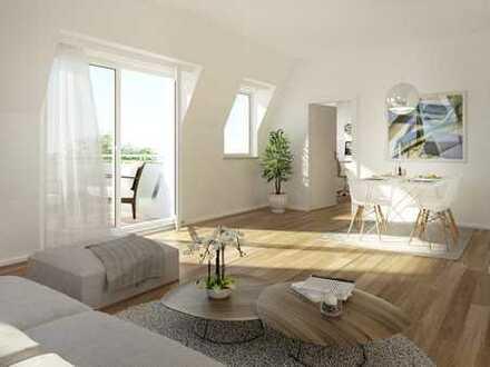 Neubau 3 Zimmer Wohnung mit 2 Balkonen Ost und West.