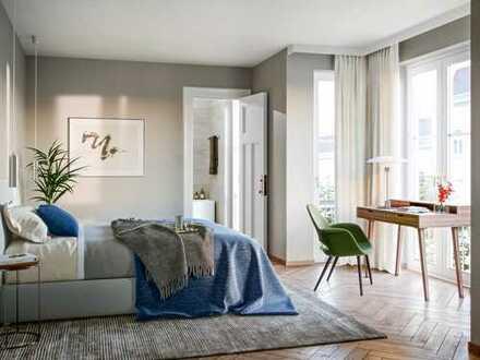 Feines Apartment mit Loggia im 3. OG
