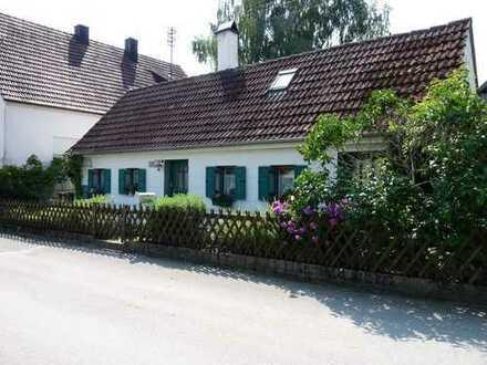Ein Kleinod in ruhiger, naturnaher Lage unweit vom Stadtrand Schrobenhausen
