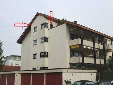 Große 3-Zi.-DG-Wohnung mit Garage in Rheinfelden