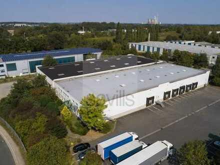 4.000 m² Umschlagslager / 12 Rampentore / Anmietung über Savills!