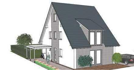 Modernes ZimmerMeisterHaus mit Garage in ruhiger Wohnlage