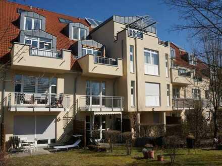sofort verfügbar: 1-Raum-Wohnung mit Küche und Balkon