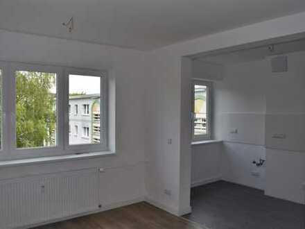 Mit Wohnküche & Tageslichtbad lässt es sich leben + Option Einbauküche