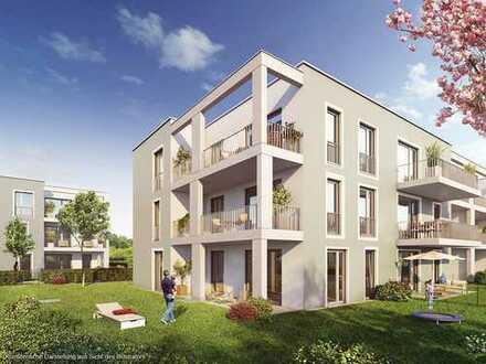 Ideal geschnittene 3-Zimmer-Etagenwohnung mit sonniger Südwest-Loggia und 2 Bädern