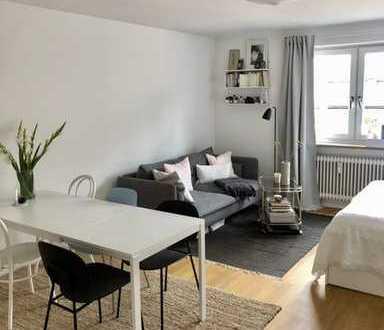 Bestlage Schwabing, Luxuriöses 1-Zi. Apartment nh. Englischer Garten, ca. 38m²