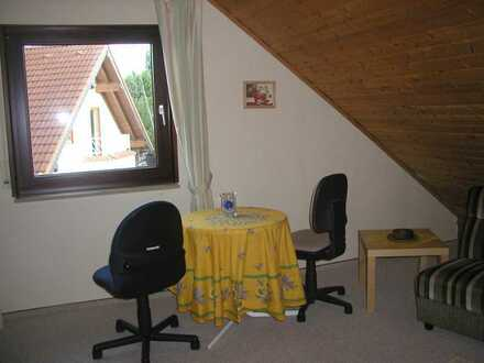 Attraktive 1-Zimmer-Dachgeschosswohnung mit EBK in Volxheim