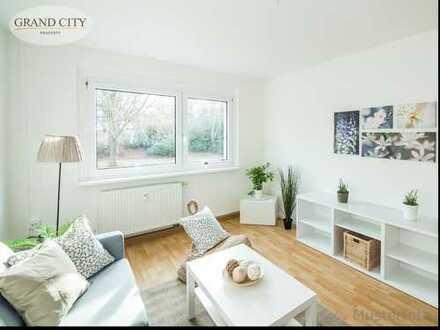 Gut geschnittene, helle 2-Zimmer-Wohnung - 47 m² mit großer Küche im Zentrum von Krefeld