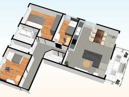 Whg. - 04 - im OG mit 106,10 m²
