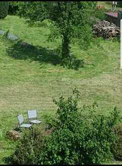 3 ZKB mit Garten zu vermieten, saniert u. renoviert, 2 min zur S-Bahn
