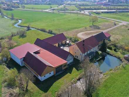 Herrschaftliches Anwesen in Alleinlage -ideal als Reiterhof-