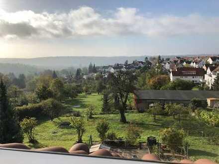 4 Zi Wohung in wunderschönen Höhenlage in Esslingenn/Hegensberg