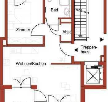 Gemütliche 2-Zimmer-Wohnung mit Aufzug