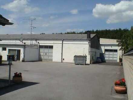Moderne Produktions-/ Lagerhalle 296 qm, ggf. mit Büroraum 40 qm