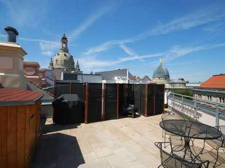 * großzügige und sonnige Traumwohnung am Neumarkt mit Dachterrasse *