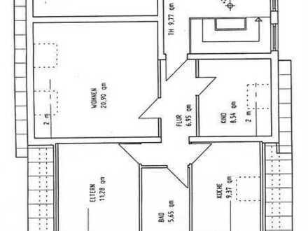Attraktive, vollständig renovierte 3-Zimmer-DG-Wohnung in Storkow (Mark)
