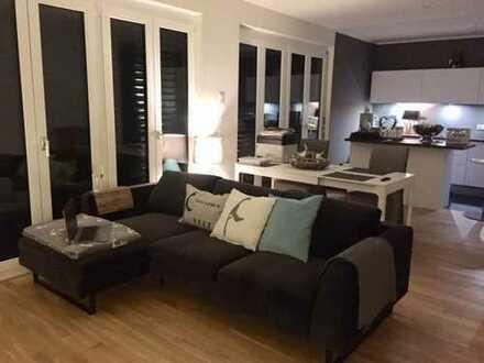 Stilvolle 2-Zimmer-Loft-Wohnung in Karlsruhe-Knielingen mit Terrasse