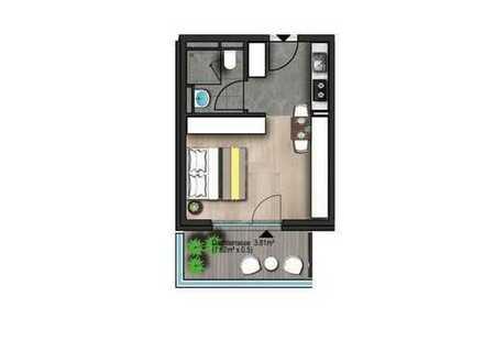 Top Kapitalanlage Singel Wohnung in Frankfurt Höchst