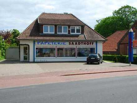 Gepflegtes Wohn- und Geschäftshaus in Ostfriesland, Preis VB