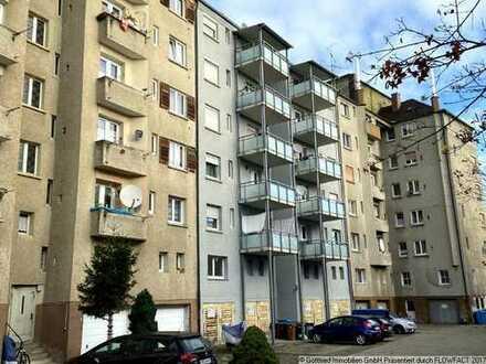 Sehr zentral: 3-Zimmerwohnung mit Balkon und Garage mitten in der Ulmer Innenstadt